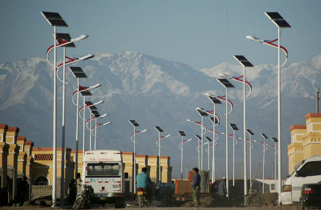 40W LED lamp solar street lamp