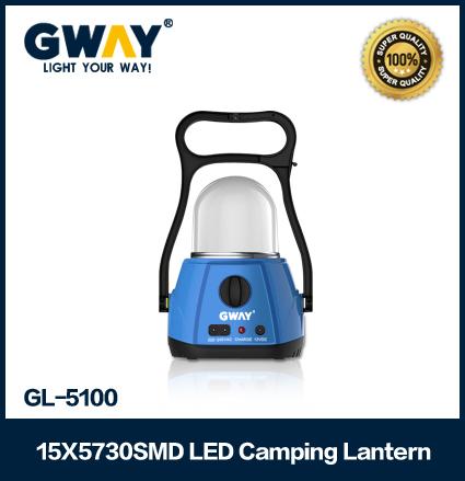 15pcs 5730 SMD LED camping lanterns portable