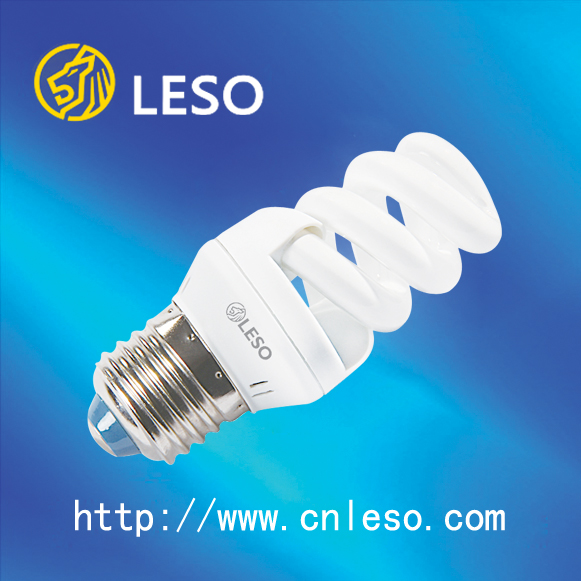 2016 main product compact fluorescent lamp Full Spiral Mini 9MM CFL 9w daylight