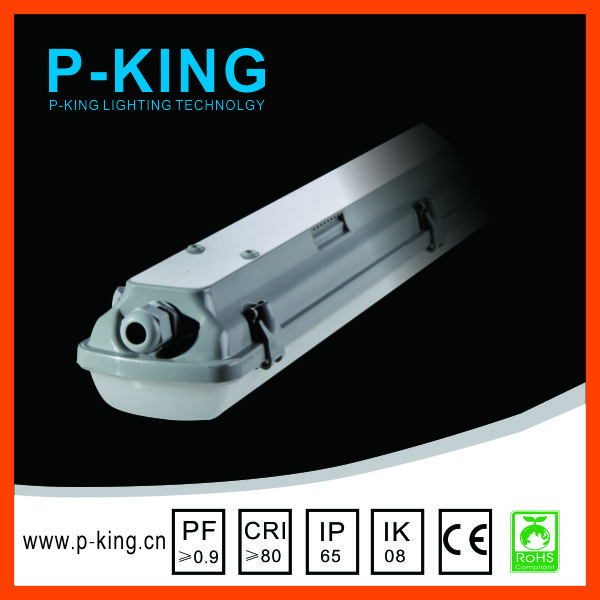 linear tri-proof light fixture wireless link ip65 tri-proof led light