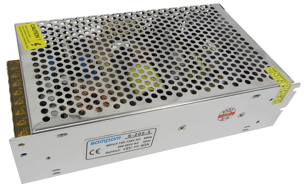 Sompom Power Supply Switch Power 5V 40A-Dongguan City Yiming