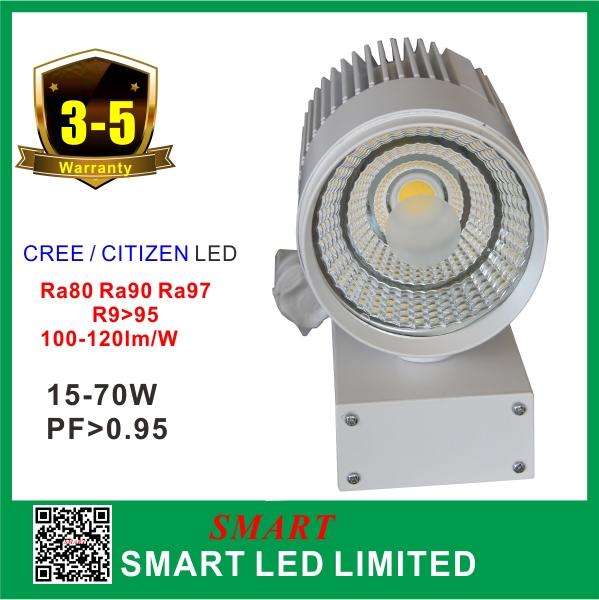 LED light rail system 30W Epistar COB track light LED for costume