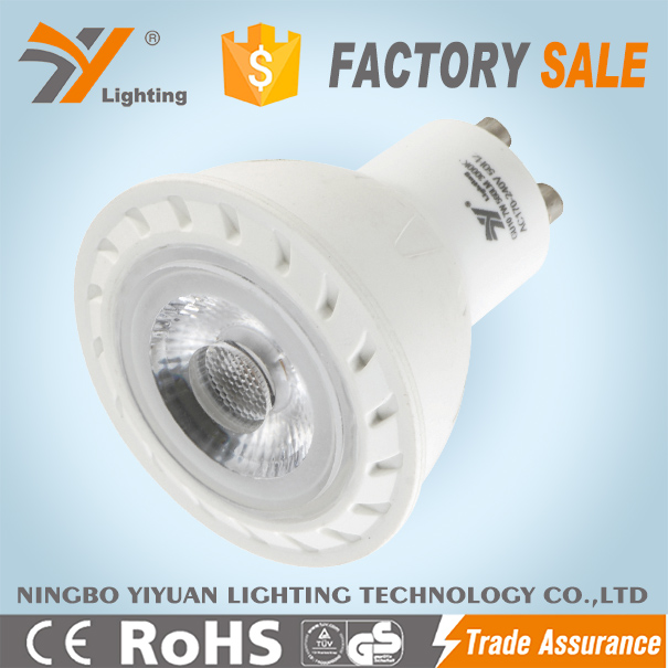 GU10AP COB 7W High power LED spotlight