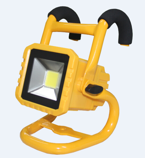 new Bend holder and bracket replaceable battery rechargeable flood light