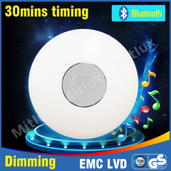 Mitlux ceiling lamp with Bluetooth speaker ceiling light led ceiling lights bathroom lighting