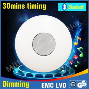 Mitlux Ceiling Lamp With Bluetooth Speaker Ceiling Light Led Ceiling Lights Bathroom Lighting In