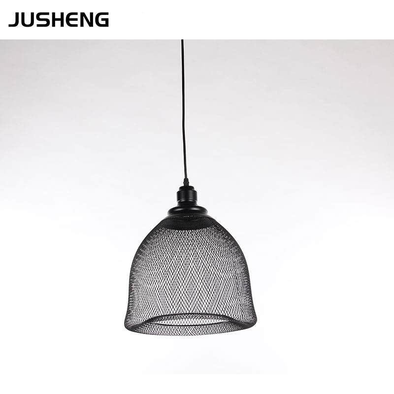 Modern E27 incandescent black pendant light 110-240v ac CE