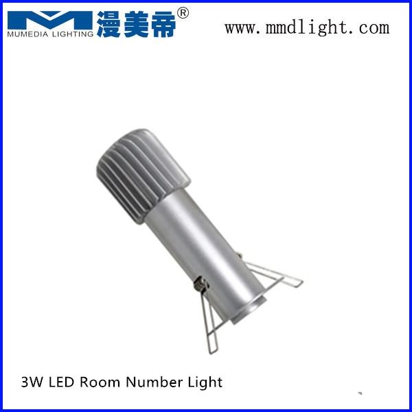 3W 5W 10W LED Room Number light GOBO light