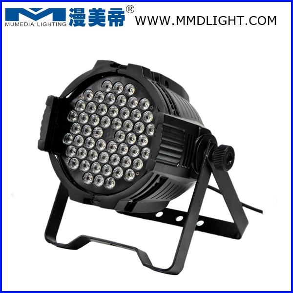 54pcs 3W RGBW LED PAR