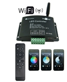 Super eco controller for smart home wifi led controller controlled by Android or IOS system rgb wifi
