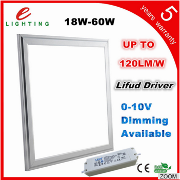 Square surface mounted dimmable led panel light