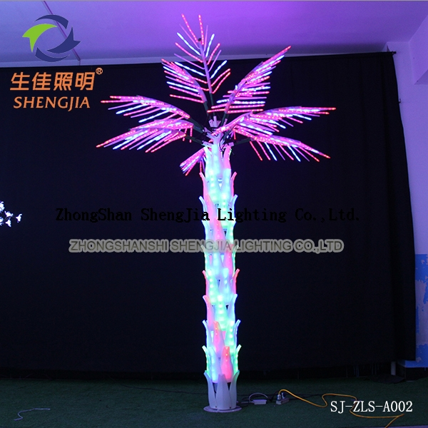 Palm Tree Lights Christmas.Christmas Outdoor Holiday Street Decorative Led Palm Tree