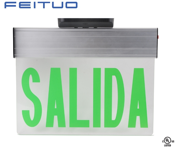 NEW SALIDA EDGE-LIT EMERGENCY EXIT SIGN