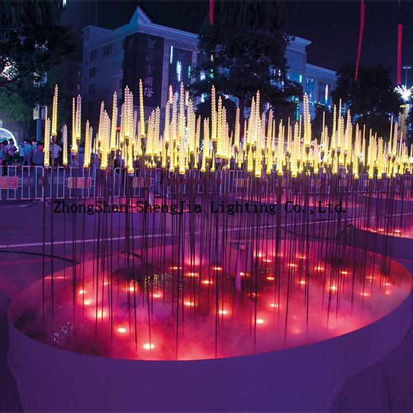 Factory Price Led Reed Flower Light Zhongshan Shengjia