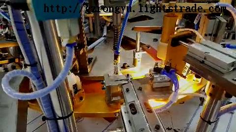 LED E14 lamp bulb assembly machine