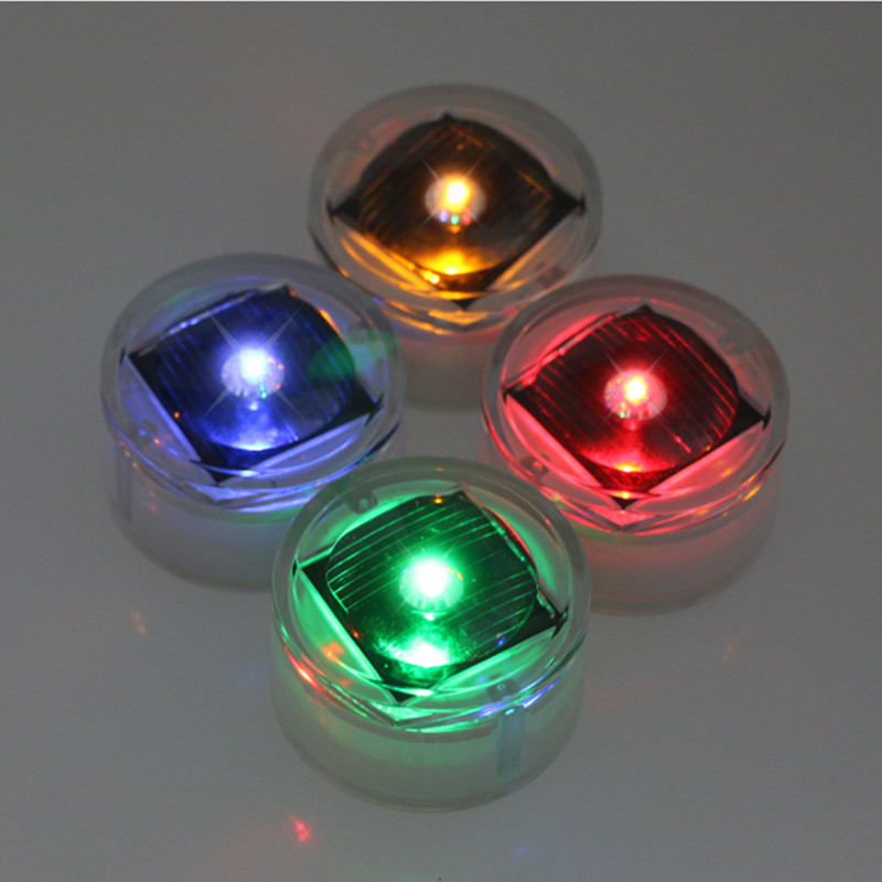 Small colorful garden home decor soar led garden light