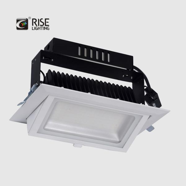 Shop lighting 38W adjustable recess light high brightness downlights led ceiling mount light