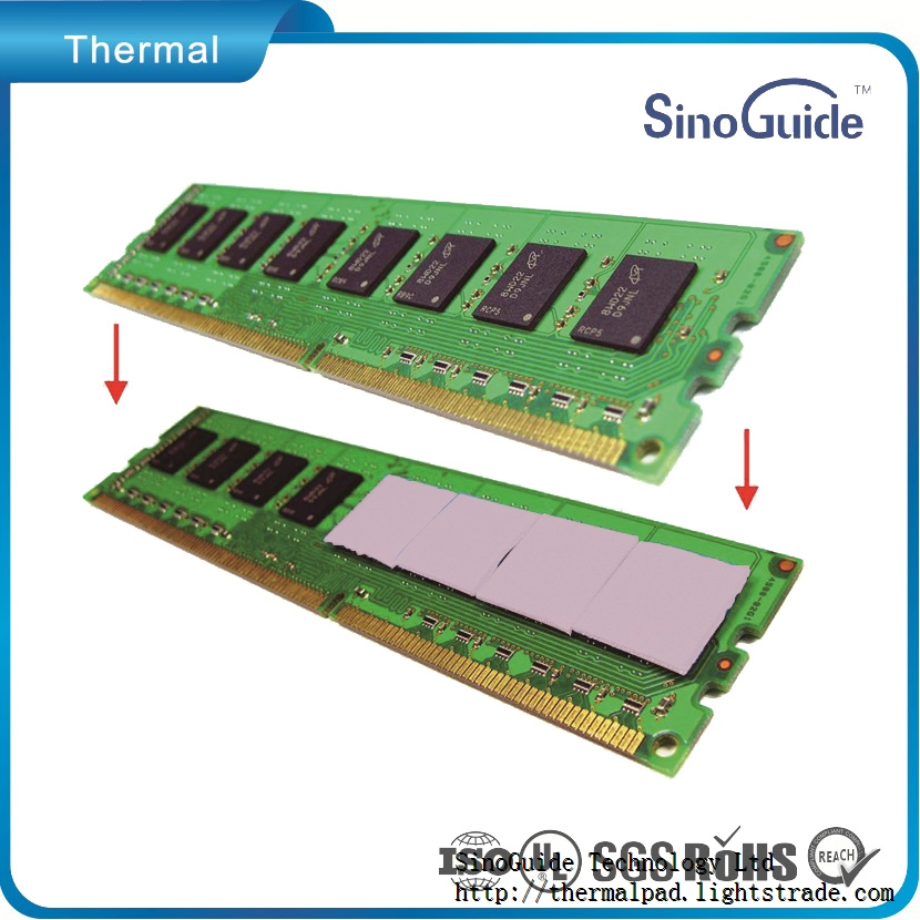 Thickness Conductive Silicon Thermal Pads Pad-SinoGuide