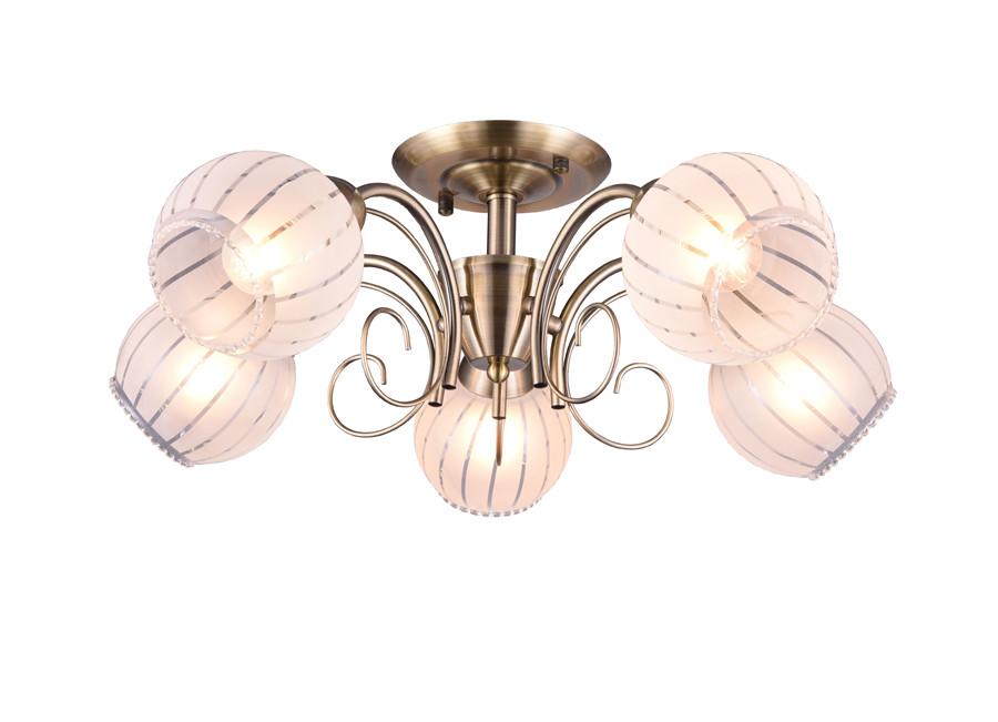 Zhongshan Lighting Glass Chandelier Indoor Decorative Lamp Modren Design Ceiling Lamp
