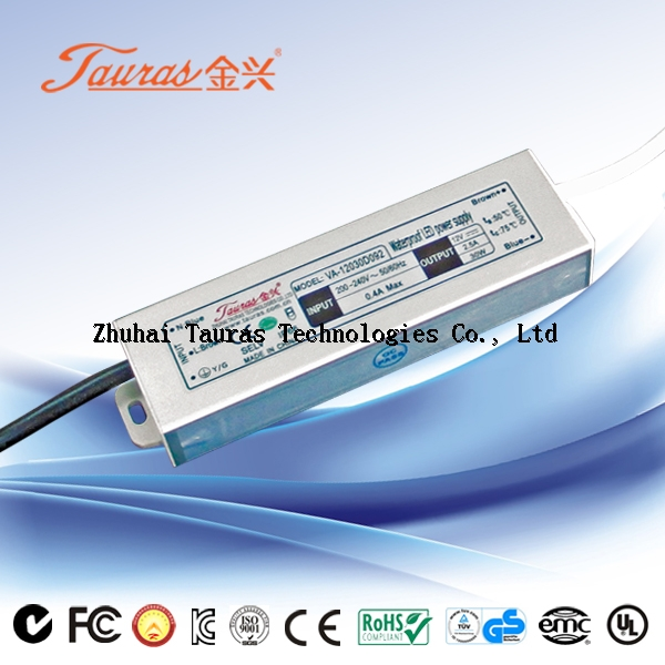 ULTRA-THIN series Constant Voltage 12V dc 100w Waterproof LED Power Supply