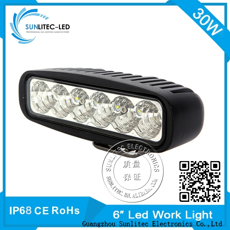 sunlitec 4WD 15W 18W led work lamp for atv utv suv