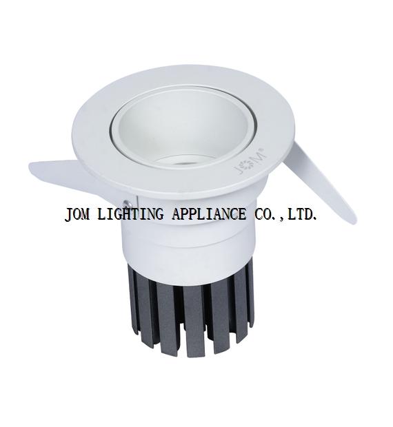 6W 10W anti glare LED downlight