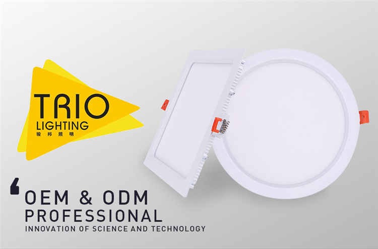 Wide Beam Angle 120° Particuilar LED double colour Panel Light