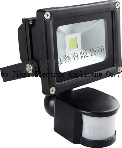 Hot Sale Motion Sensor Led Flood Light 10w Sensor Floodlight