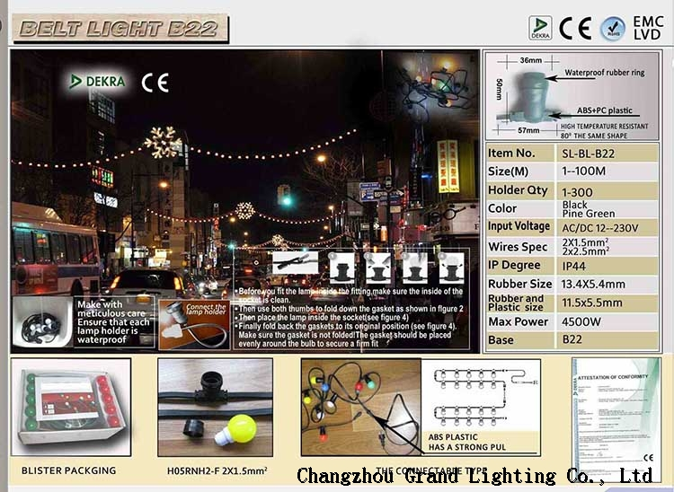 Festival decorative lamp string