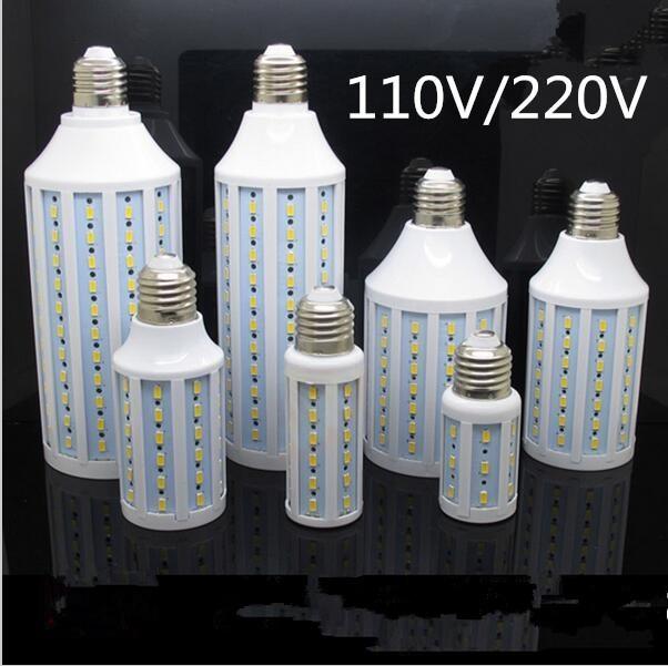 LED Lamp E27 220V 5W - 60W Lamparas Bulb 110V Candle Luz Ampoule Lampada Light Spotlight