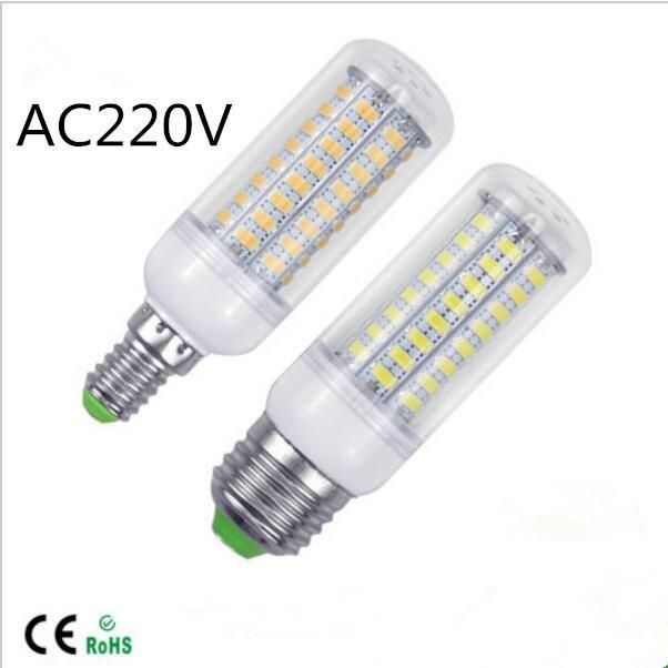 LED lamp E27 E14 3W 5W 7W 12W 15W 18W 20W 25W SMD5730 Corn Bulb 220V Chandelier LEDs Candle