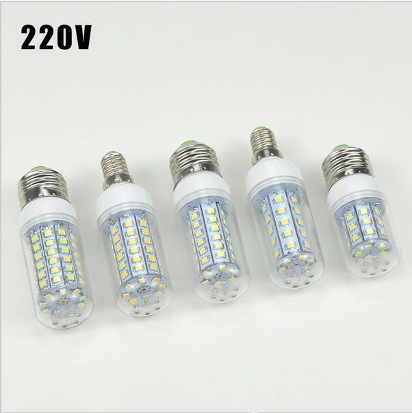 Wholesale New Design Super bright LED Corn Bulb E27 E14 220V lamp Chandelier light