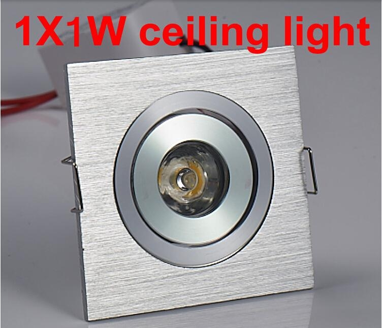 Free shipping 11W led downlight square led lamp epistar chip high power led indoor cabinet light