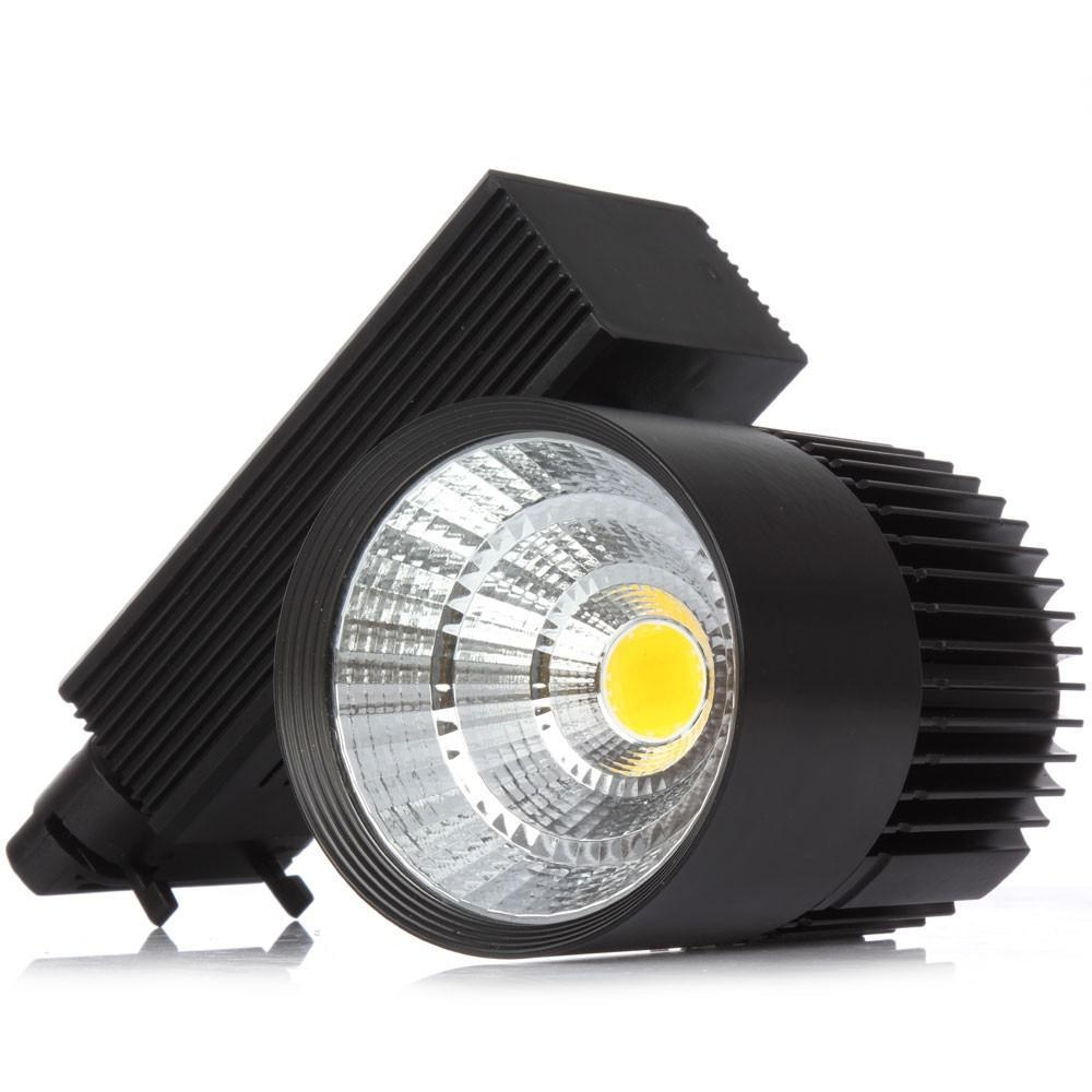 CE RoHS LED lights Wholesale 20W COB Led Track Light Spot Wall Lamp Soptlight Tracking led AC 85-265