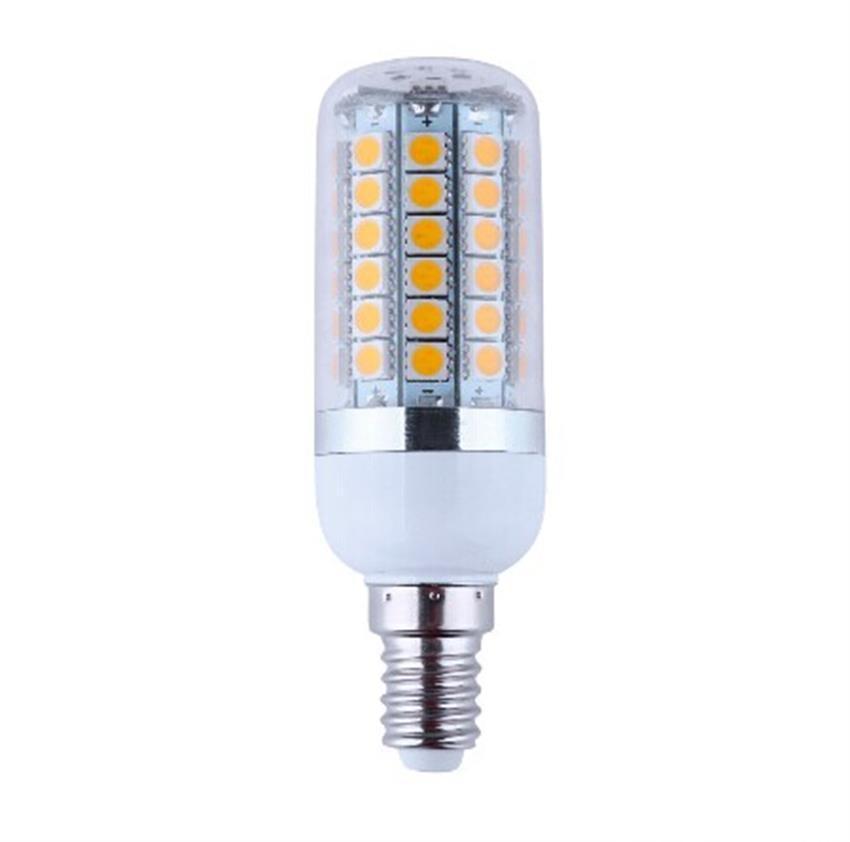 B22 E27 E26 E14 GU10 LED Corn Bulbs 5050 SMD 18W 56LED 22W 69 LEDs 1650LM 360 degree LED bulbs