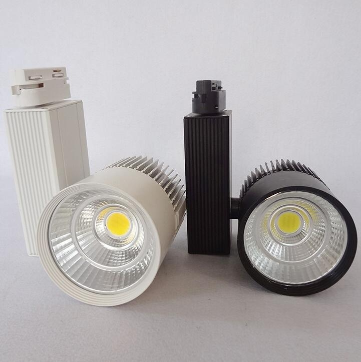 COB LED Track Light Bulb Taiwan Epistar chip spot light 85-265 Volt LED Wall Track Lighting