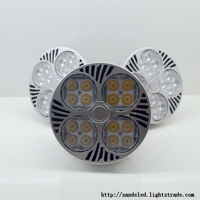 High lumen high CRI LED Par30 Spotlight AC85-265V 30W Par30 Bulb Light 100-110lmW E27 Indooor Light