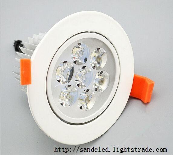 Super bright 3W5w7w9w12w15w18w led Ceiling Light spotlight AC85-265V Epistar led lamp beads led down