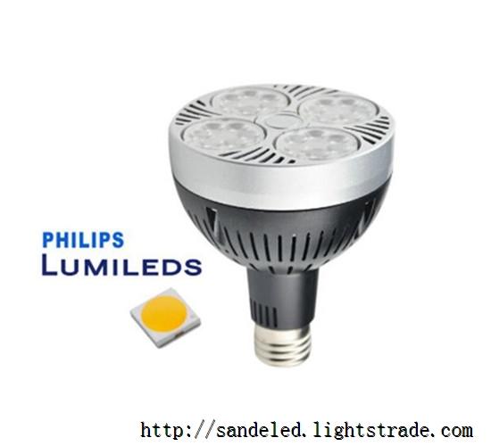 Wholesale LED high power PAR30 35W Spotlight 36pcs LED E27 E26 base High Brightly LED Light CE RoHS