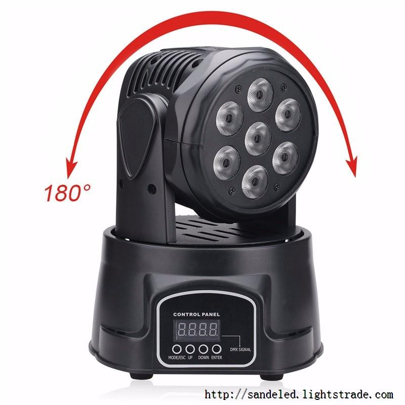 2016 new design 100W LED moving head Spot Light DMX512 led stage lighting 914CH Stage Party DJ PAR
