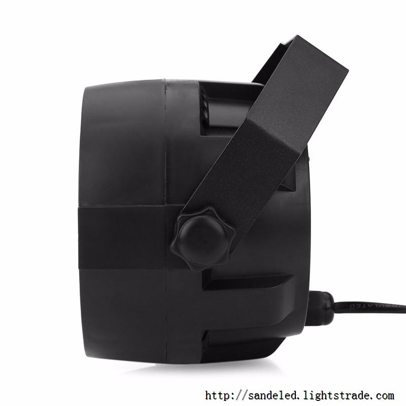 Flat LED Par RGBW DMX512 Disco Lamp stage light Voice activated For Discos Music Light Disco Bulb