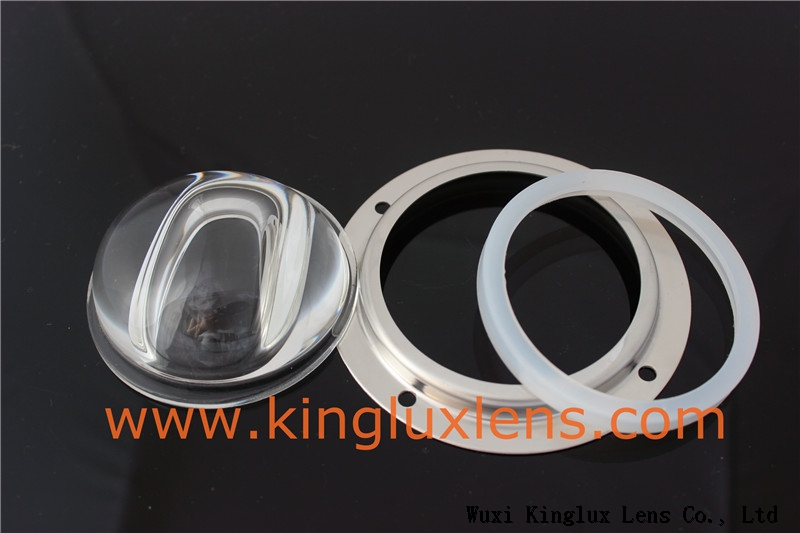 65MM Glass led lens for led street lamps