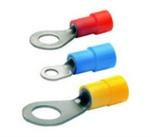 PVC or Nylon Insulated Ring Terminal Din Standard