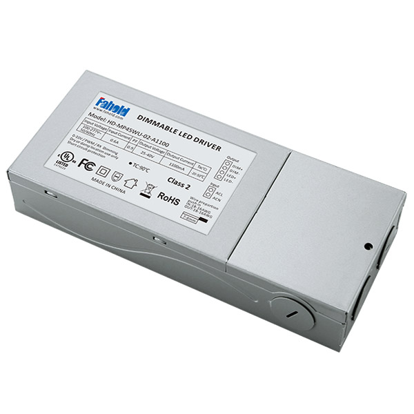 0-10V Dimming 45W LED Driver UL Certified for LED Panel Lights