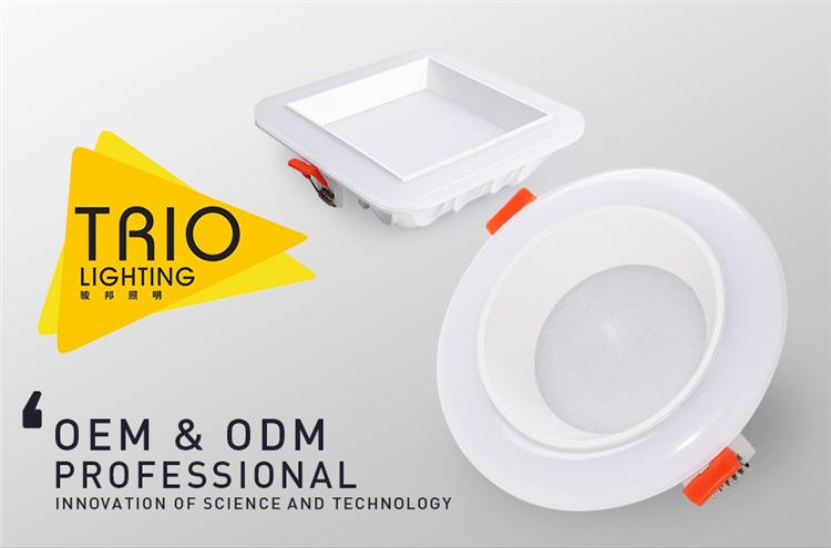 GOOD Heat Dissipation Ra80 High Lumen SMD2835 7W 16W 24W 32W LED Downlight