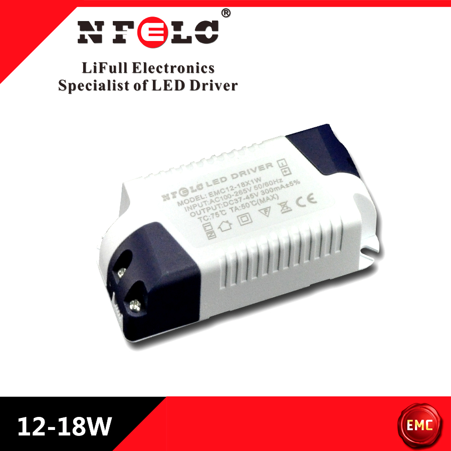 EMC standard LED constant current driver isolated driver 18W