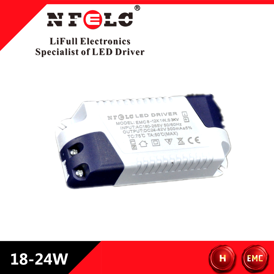 LED constant current driver isolated EMC standard withstand 3.75KV 12W