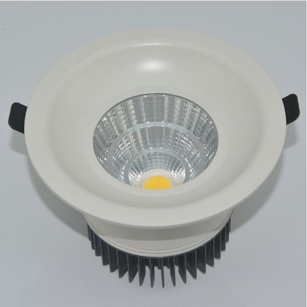 cob supplier innovative round recessed shop led ceiling light with CE