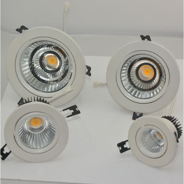 recessed round adjustable 5inch 45w unique design led down light