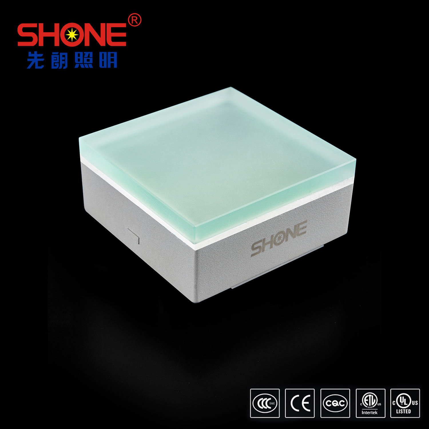 Shone Lighting 100x100 LED Brick LED Tile Light with CE UL ETL Certificates for Outdoor Lighting